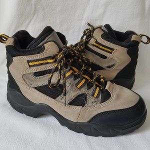 Mens Leather NORTHWEST TERRITORY Waterproof Boots Hikers Walking Shoes Sz Size 6
